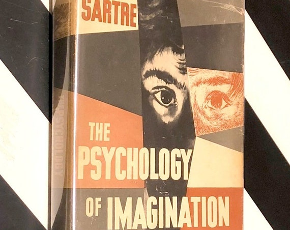The Psychology of Imagination by Jean Paul Sartre (1948) first edition book