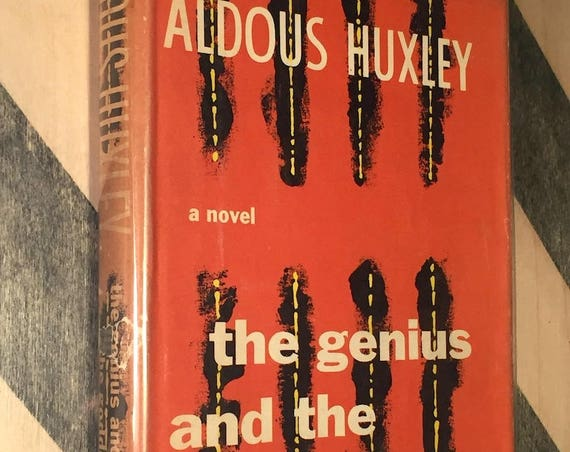 The Genius and the Goddess by Aldous Huxley (1955) hardcover book