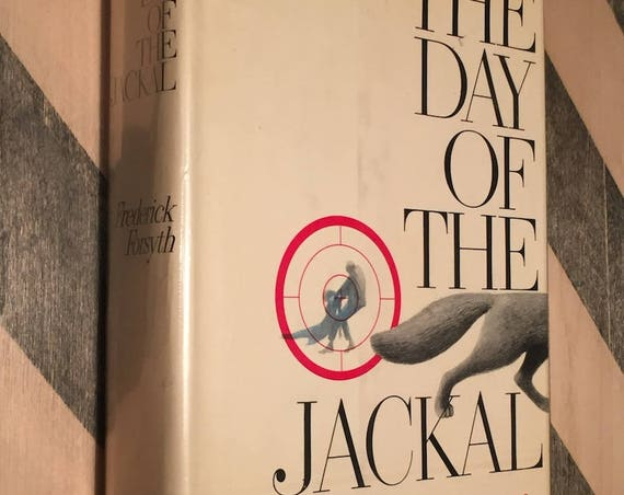 The Day of the Jackal by Frederick Forsyth (Hardcover, 1971)