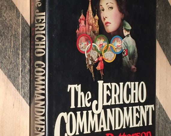 The Jericho Commandment by James Patterson (hardcover first edition)
