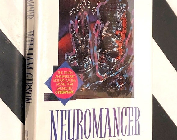 Neuromancer by William Gibson (1994) hardcover book