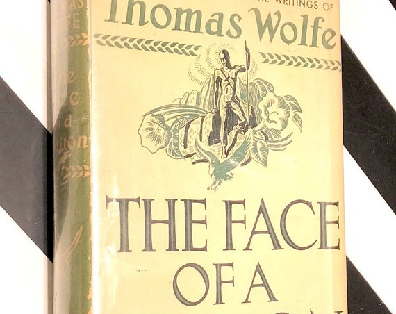 The Face of a Nation by Thomas Wolfe (1939) hardcover book