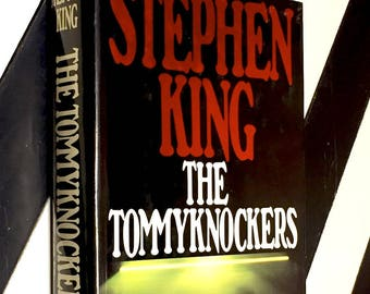 The Tommyknockers by Stephen King (1987) first edition book