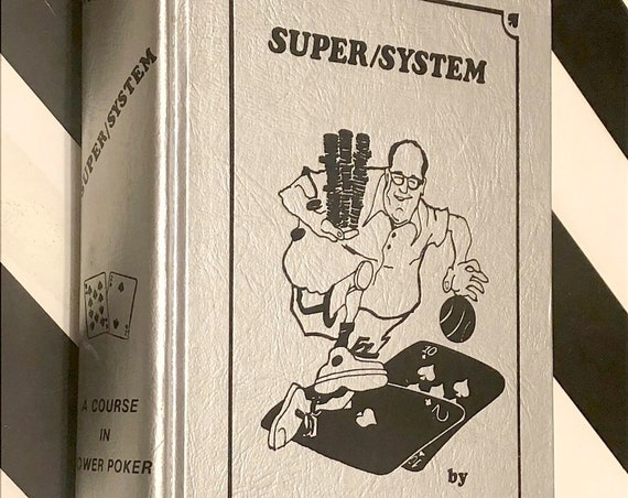 Super/System by Doyle Brunson (1978) hardcover book