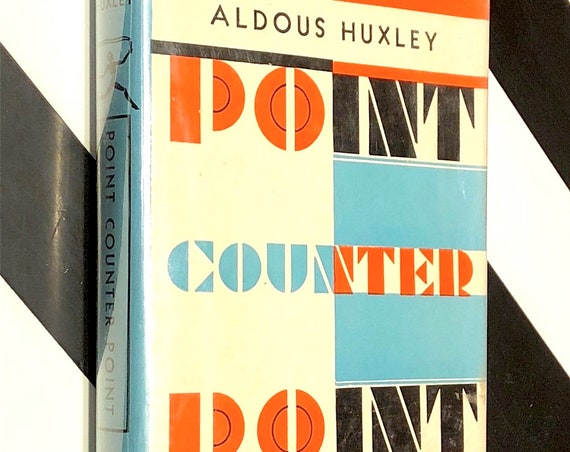 Point Counterpoint by Aldous Huxley (1928) Modern Library hardcover book