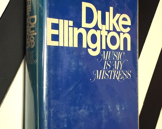 Music is my Mistress by Duke Ellington (1973) first edition book