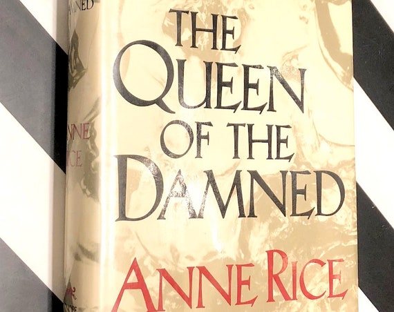 Queen of the Damned by Anne Rice (1988) first edition book