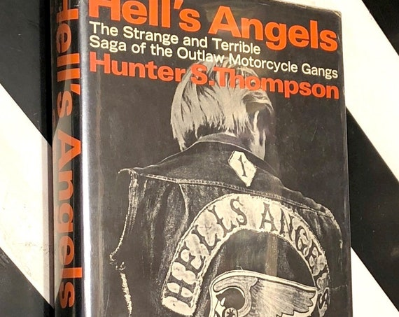 Hell's Angels by Hunter S. Thompson (1967) hardcover book