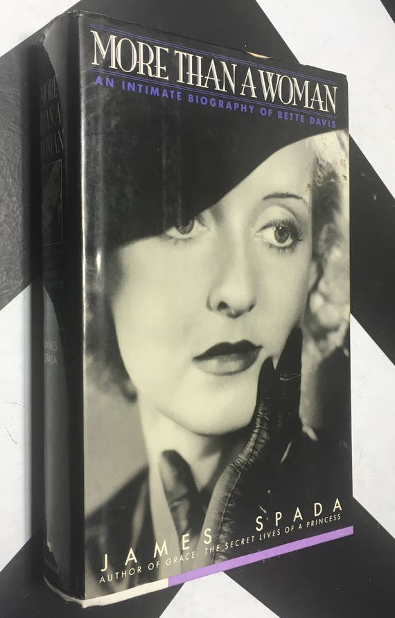 More Than a Woman: An Intimate Biography of Bette Davis by James Spada (Hardcover, 1993) vintage book