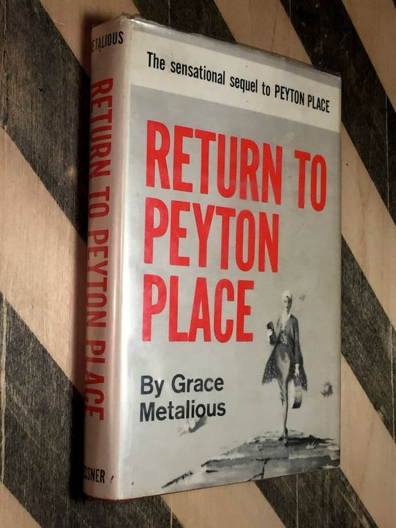 Return to Peyton Place by Grace Metallious (1959) first edition book