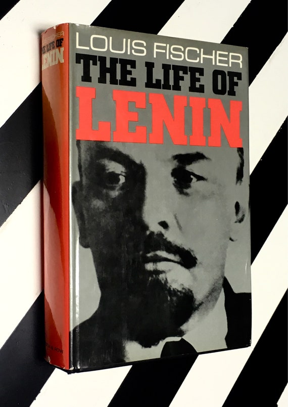 The Life of Lenin by Louis Fischer (1964) hardcover book