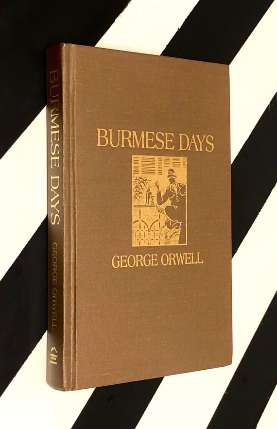 Burmese Days: A Novel by George Orwell (1934) hardcover Amereon House limited edition book
