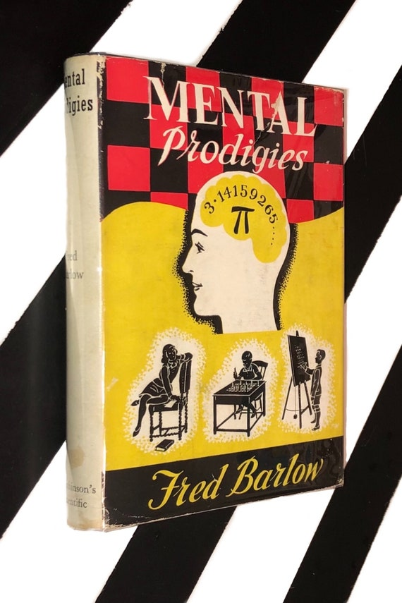 Mental Prodigies by Fred Barlow (1952) hardcover book