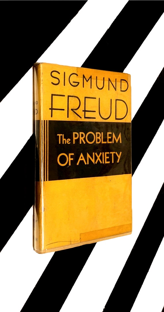The Problem of Anxiety by Sigmund Freud (1936) hardcover book