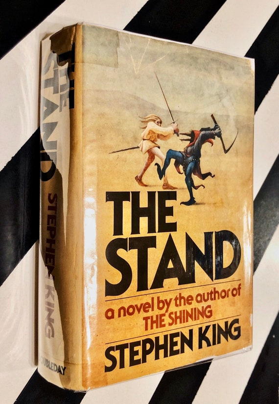 The Stand by Stephen King (1978) hardcover book