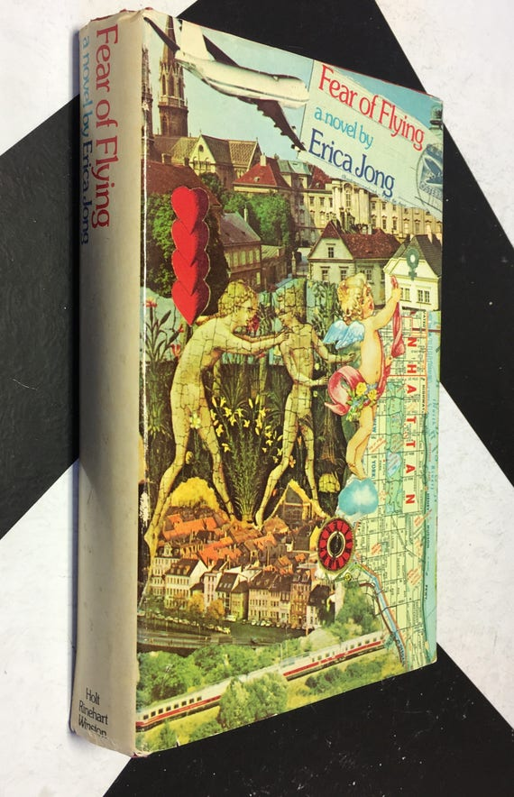 Fear of Flying by Erica Jong (Hardcover, 1973) vintage book