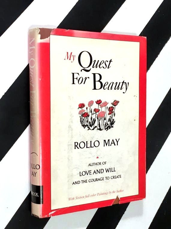 My Quest for Beauty by Rollo May (1985) hardcover signed book