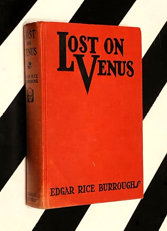 Lost on Venus by Edgar Rice Burroughs (1935) hardcover book