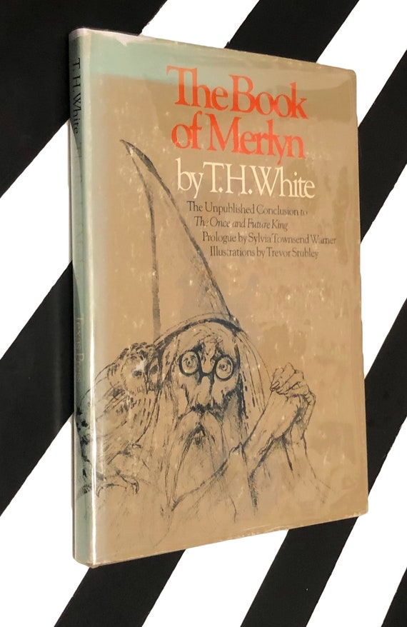 The Book of Merlyn by T. H. White (1977) hardcover book