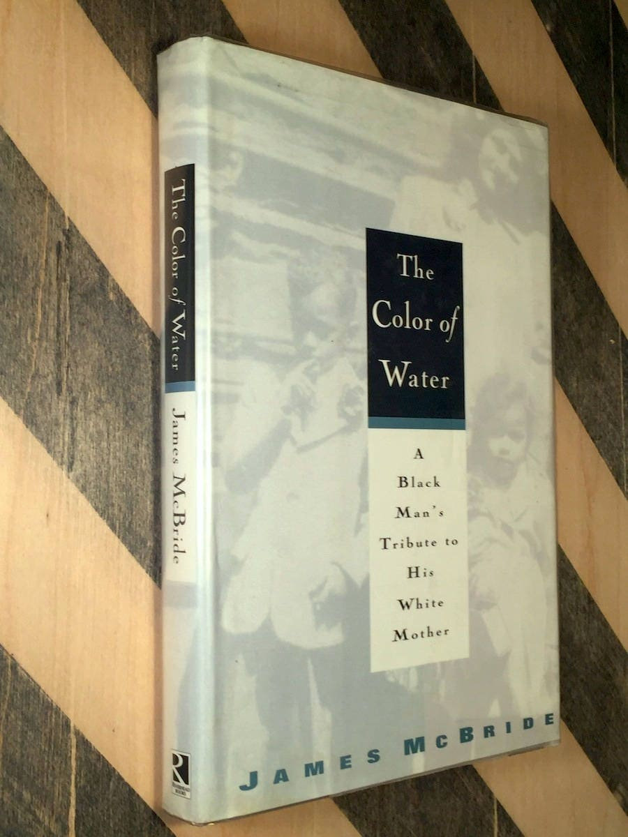 The Color of Water by James McBride (1996) hardcover book