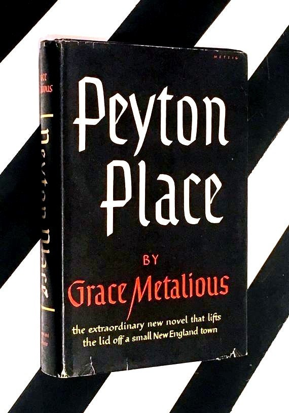 Peyton Place by Grace Metalious (1956) hardcover book