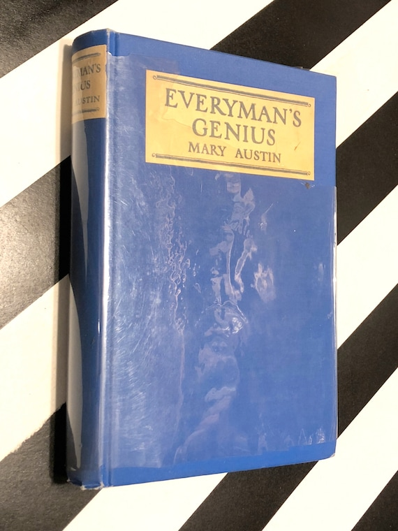 Mary Austin - Everyman's Genius (1925) first edition book