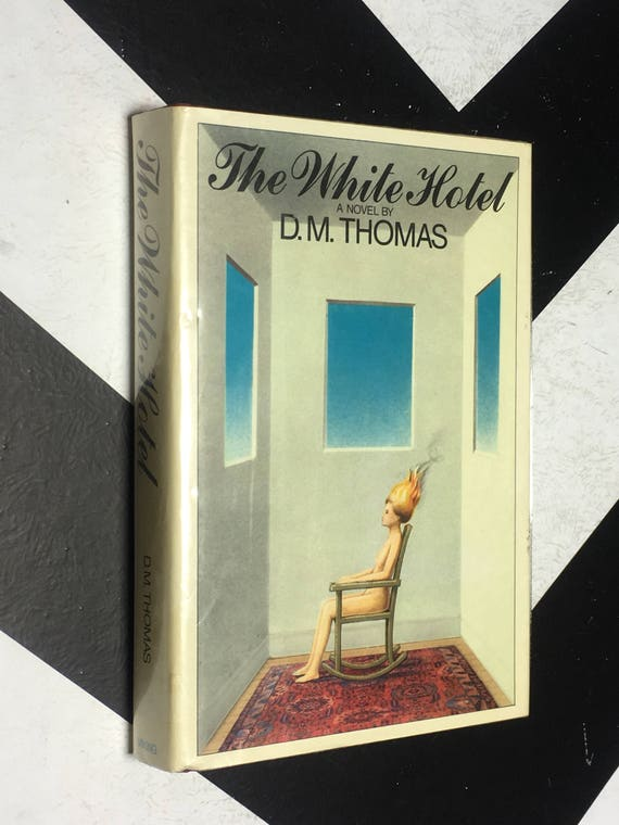 The White Hotel by D. M. Thomas vintage classic science fiction fantasy horror novel (Hardcover, 1981)