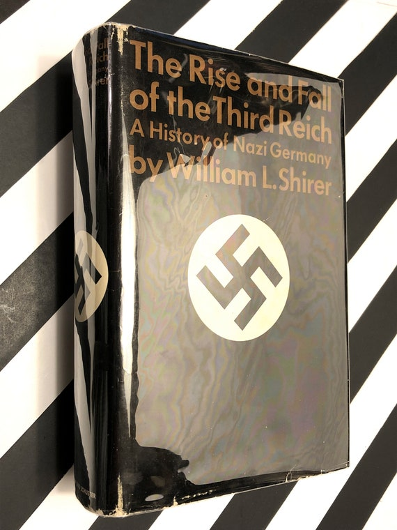 The Rise and Fall of the Third Reich by William Shirer (1960) hardcover book