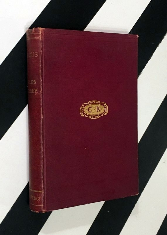 Glaucus or Wonders of the Shore by Charles Kingsley (1903) hardcover book