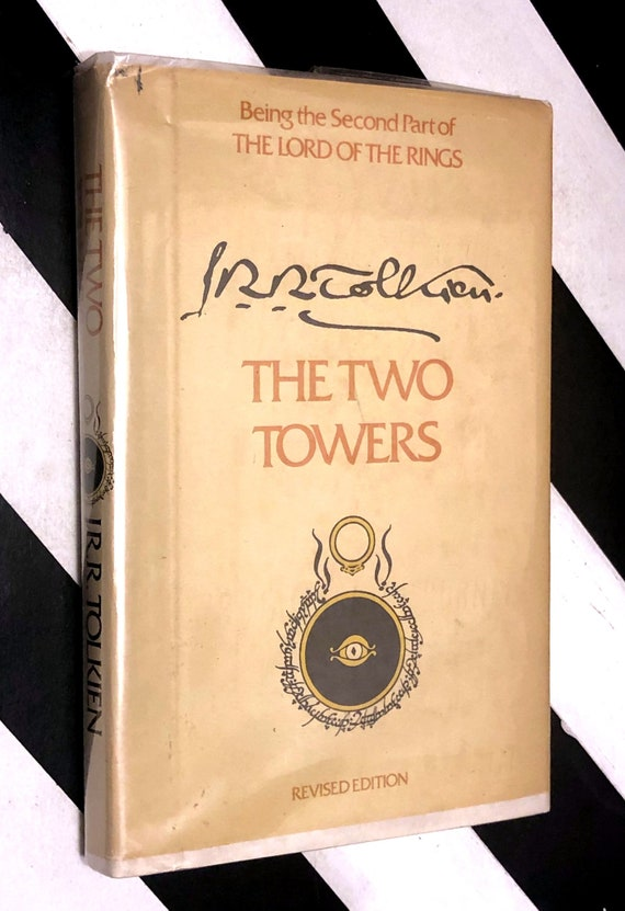 The Two Towers by J.R.R. Tolkien (1978) hardcover book