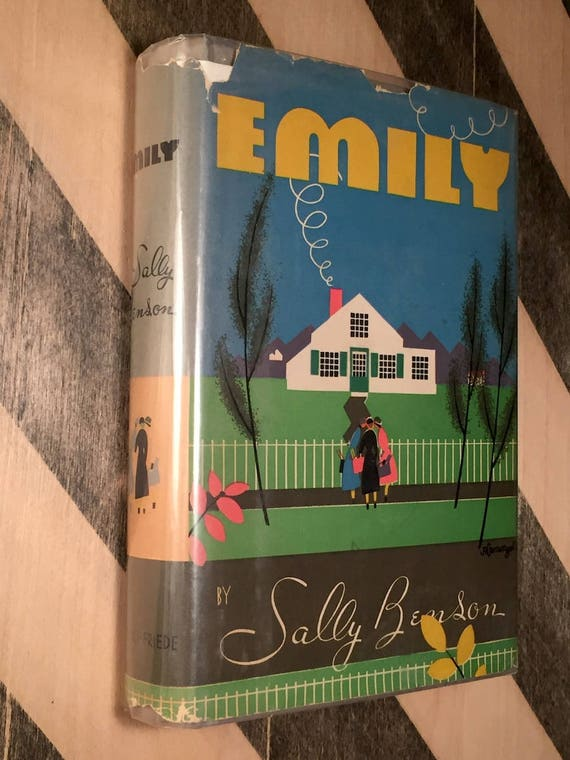 Emily by Sally Benson (1938) first edition book