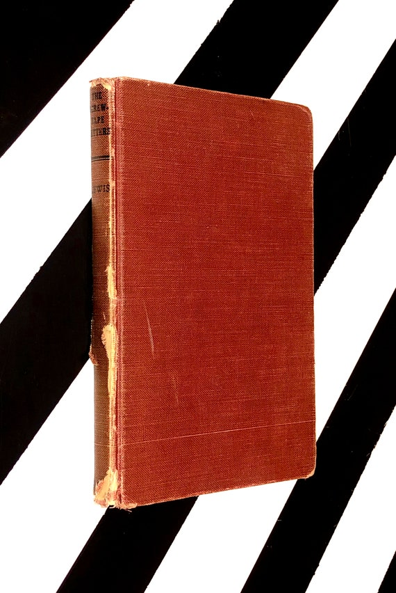 The Screwtape Letters by C. S. Lewis (1951) hardcover book