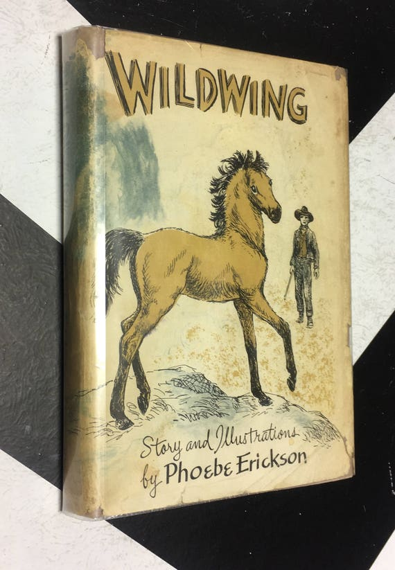 Wildwing story and illustrations by Phoebe Erickson vintage classic children's story book (Hardcover, 1959)