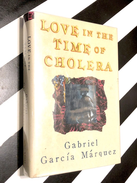 Love in the Time of Cholera by Gabriel Garcia Marquez (1988) first edition book