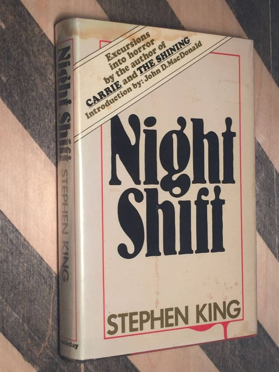 Night Shift by Stephen King (1978) hardcover trade edition