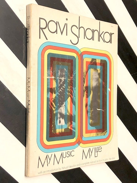 My Music, My Life by Ravi Shankar (1968) softcover book