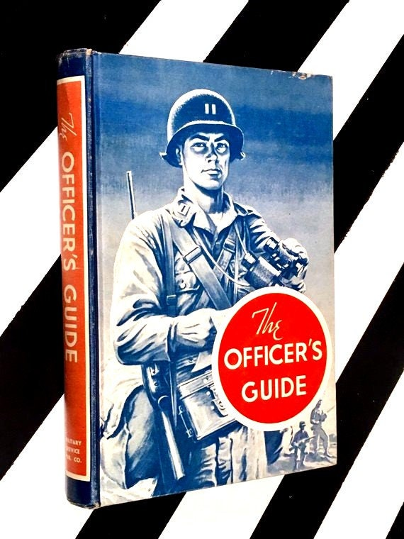 The Officer's Guide (1957) hardcover book