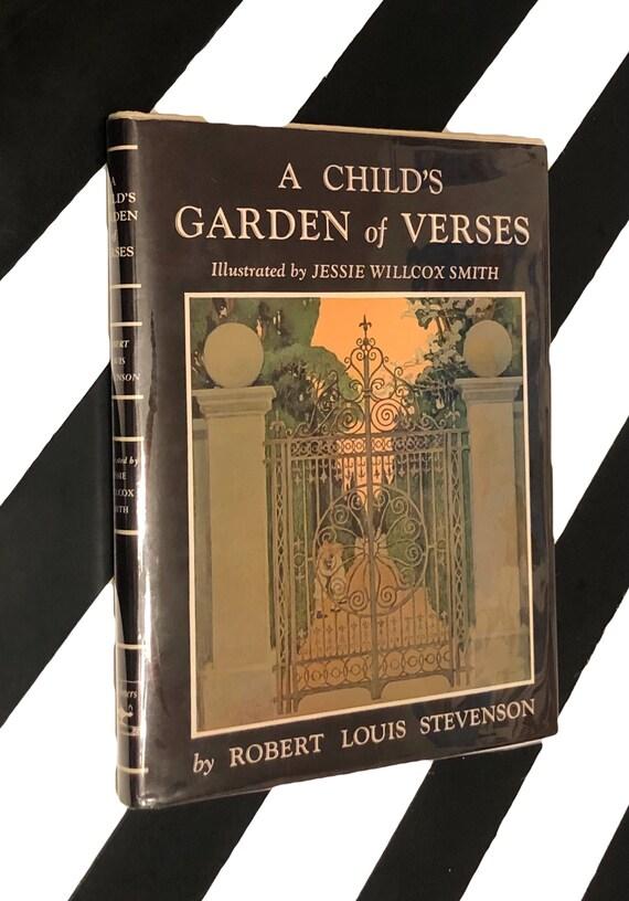 A Child's Garden of Verses by Robert Louis Stevenson (no date) hardcover book