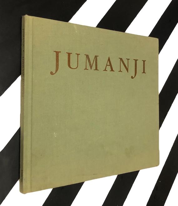 Jumanji written and Illustrated by Chris Van Allsburg (1981) hardcover book