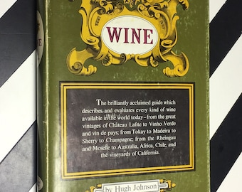 Wine by Hugh Johnson With line drawings by Owen Wood (1972) hardcover book