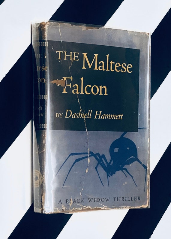 The Maltese Falcon by Dashiell Hammett (1945) hardcover rare book