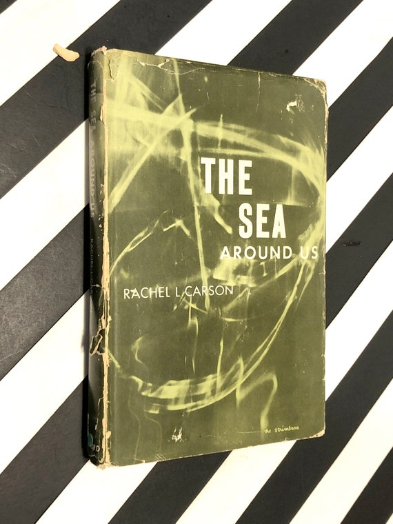 The Sea Around us by Rachel Carson (1961) hardcover book