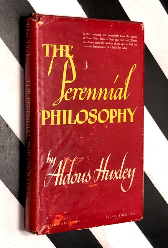 The Perennial Philosophy by Aldous Huxley (1945) first edition book