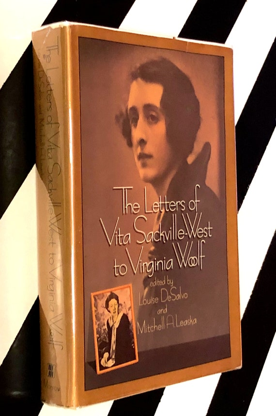The Letters of Vita Sackville-West to Virginia Woolf edited by Louise DeSalvo and Mitchell A. Leaska (1985) hardcover first edition book