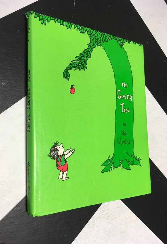 The Giving Tree by Shel Silverstein (Hardcover) vintage classic children's book