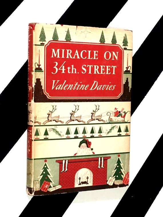 Miracle on 34th Street by Valentine Davies (1947) hardcover book