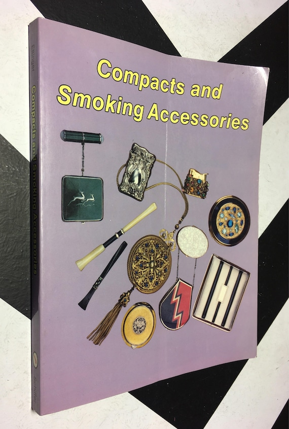 Compacts and Smoking Accessories by Roseann Ettinger (Softcover, 1991) vintage book
