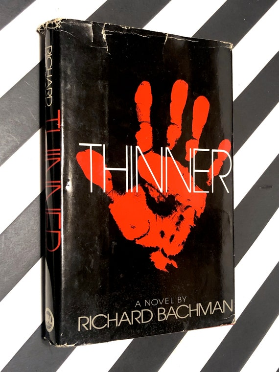 Thinner by Richard Bachman aka Stephen King (Hardcover, 1984)