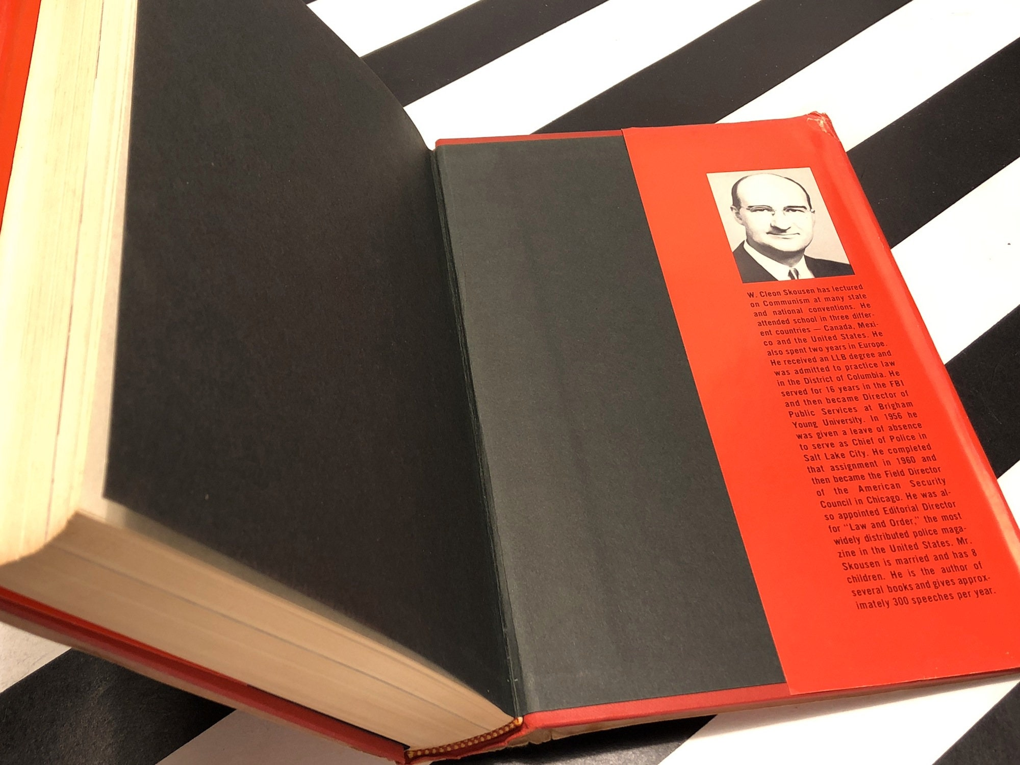 The Naked Communist by W. Cleon Skousen (1961) hardcover book
