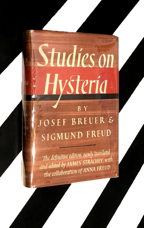 Studies on Hysteria by Josef Breuer and Sigmund Freud (1957) hardcover first edition book